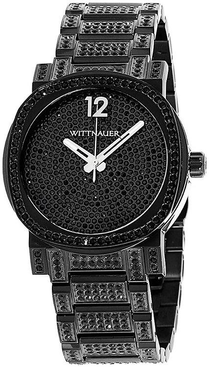 Wittnauer Adien Black Dial Mens Quartz Watch