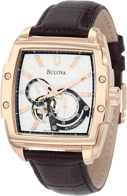 Bulova Self-Winding Dual Face Mens Watch