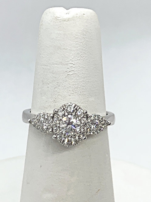 WG RBC Diamond Vintage Design Ring