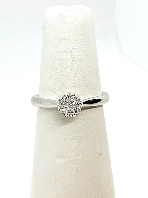 WG Diamond Cluster Ring