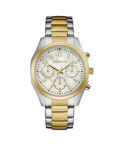 Caravelle Two-Tone WOMEN'S WATCH