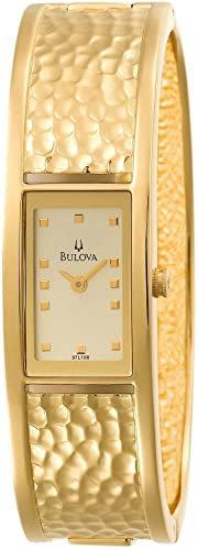 Bulova Women's Cuff Champagne Dial Watch