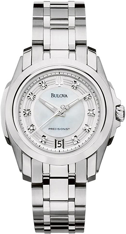 Bulova Ladies Precisionist Silver Watch