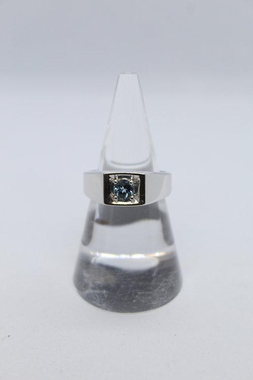 Mens Blue Topaz Ring