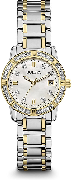 Bulova Two Tone Women's Watch