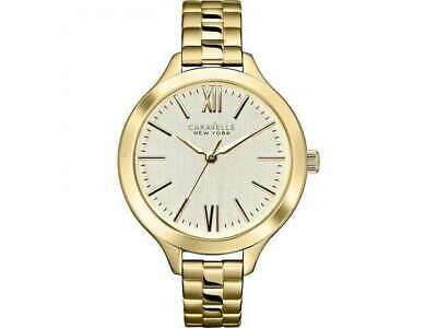 Caravelle New York Ladies Stainless Steel Watch