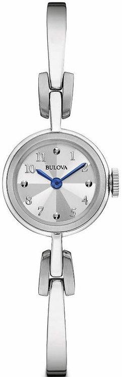 Women's Bulova Classic Steel Bangle Watch