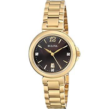 Bulova Women's Diamond Gallery Quartz Watch