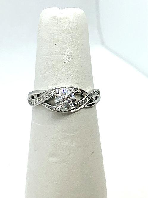 WG Diamond Engagement Ring ES972