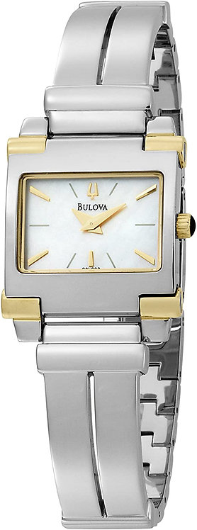 Bulova Ladies Two-tone Mother of Pearl Dial watch