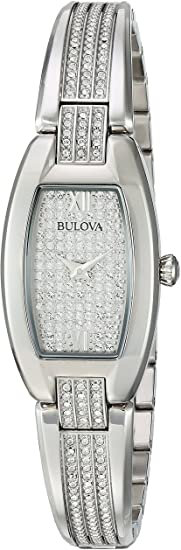 Bulova Woman Bracelet crystal watch