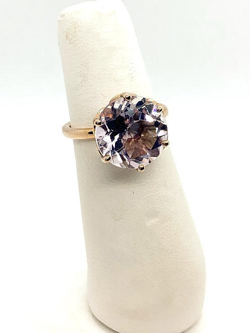 Rose Gold Amethyst Right Hand Ring