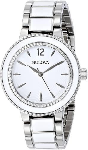 Bulova Women's Sport Casual Silver Bracelet Watch