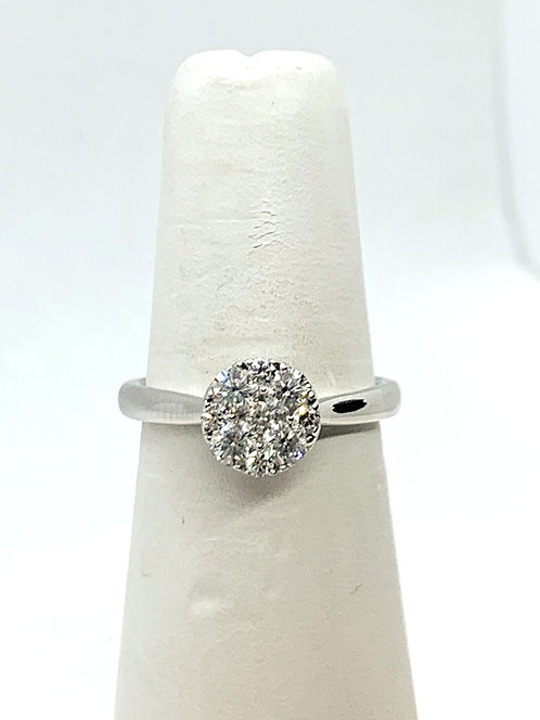 WG RBC Diamond Ring