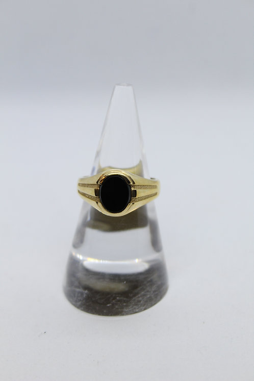 Mens Onyx Ring