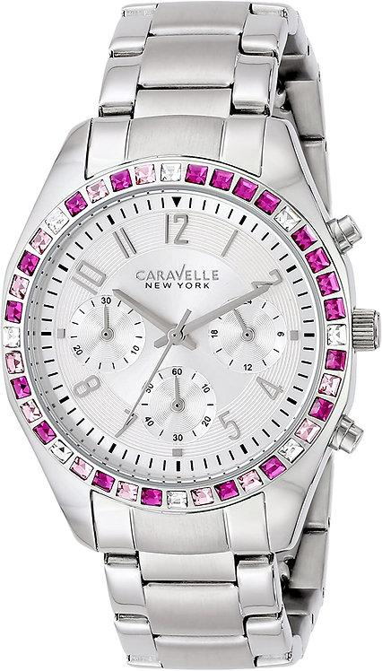 Bulova Caravelle New York Quartz White Watch