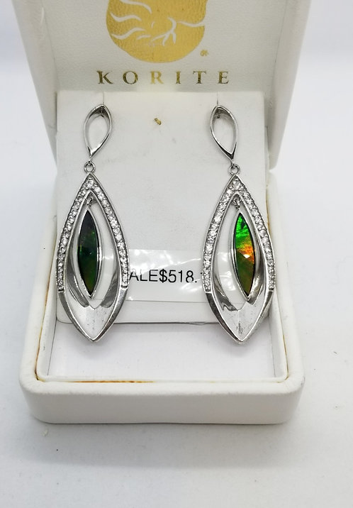 Ammolite Earrings