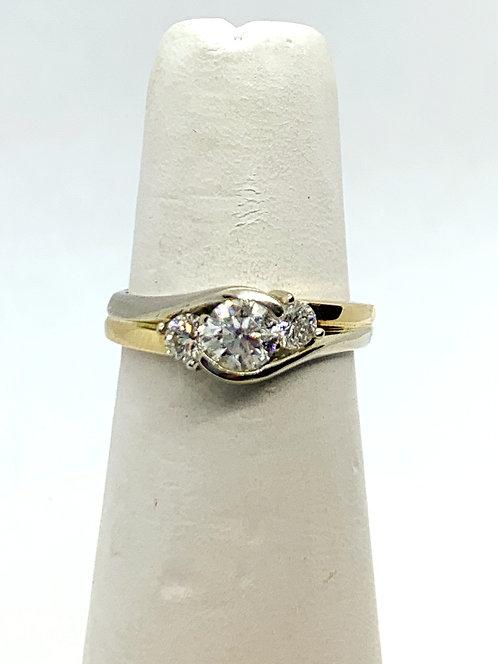YGWG RBC Trio Diamond Ring