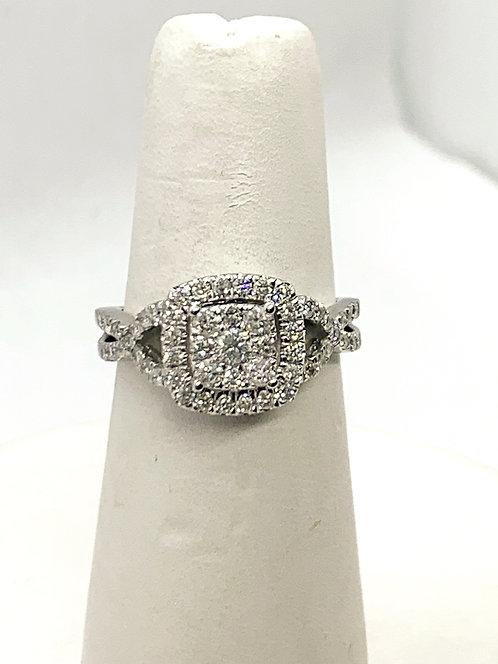WG RBC Diamond Cluster Ring