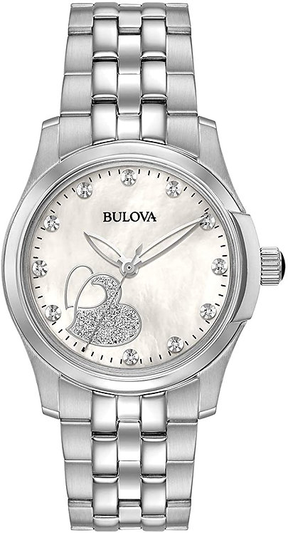 Bulova Quartz Ladies Stainless Steel Casual Watch