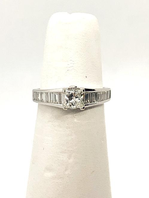 WG Diamond Engagement Ring ES1017