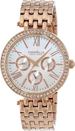 Bulova Caravelle New York Women's Analog Rose Gold Dress Watch