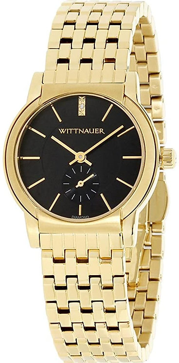Wittnauer Carly Mini Diamond Gold Plated Watch