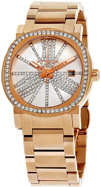 Wittnauer  Rose Gold Tone Glass Bezel and Dial Watch