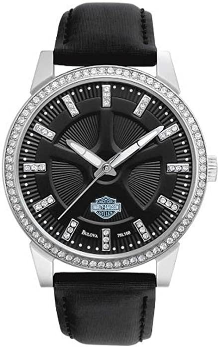 Harley-Davidson Crystal Dress Watch