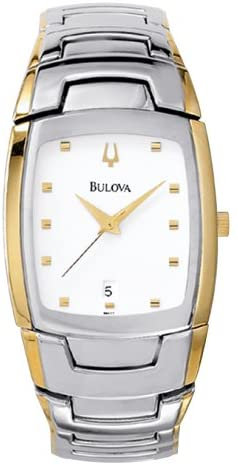 Bulova Men's Two-Tone Accented Watch