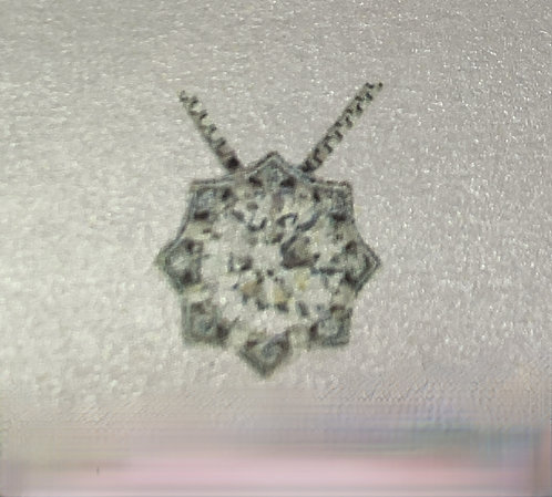 White Gold Starburst .72CT Canadian Diamond Pendant