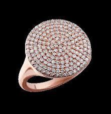 Rose Gold Diamond Dinner Ring