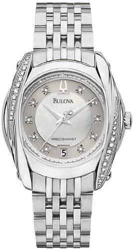 Women Bulova Precisionist Stainless Steel
