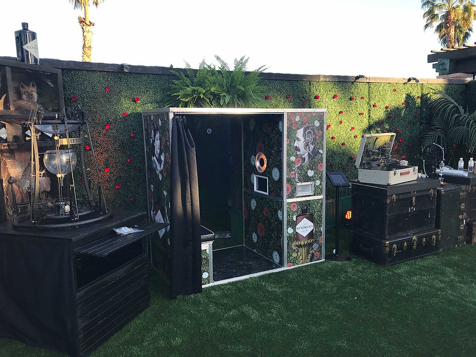 corporate photo booth wrap