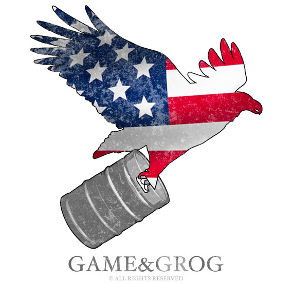 GAME&GROG Tee Design 5