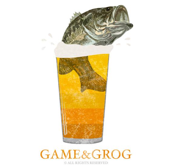 GAME&GROG Tee Design 1