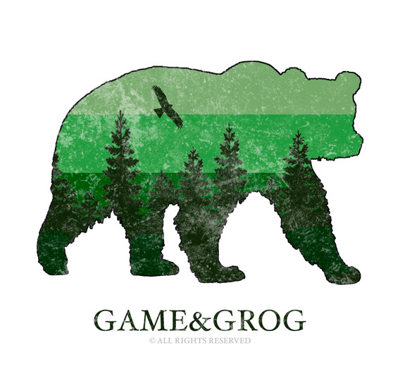 GAME&GROG Tee Design 4