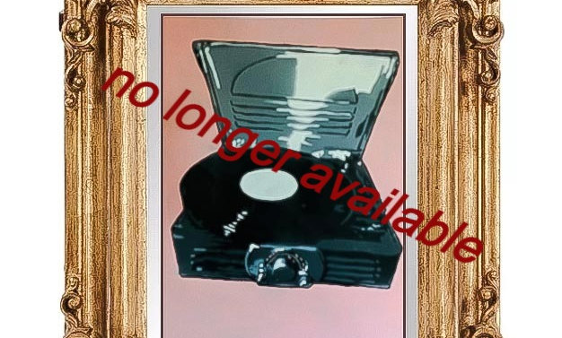 """record player 12""""x16"""""""