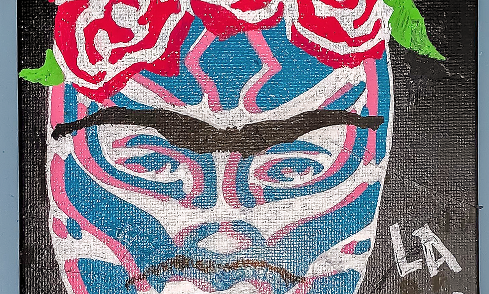 """frida mask 5""""x8"""" (also available in sticker 4.50)"""