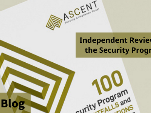 Pitfall #6 of 100: Independent Reviews of the Security Program