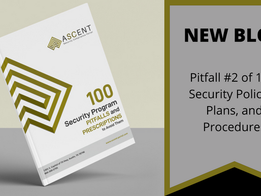 Pitfall #2 of 100: Security Policies, Plans, and Procedures