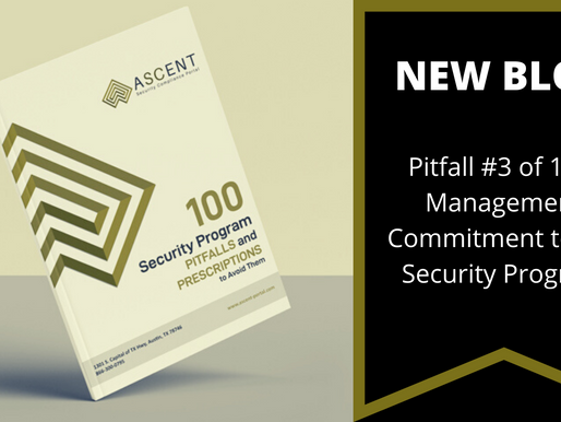 Pitfall #3 of 100: Management Commitment to the Security Program