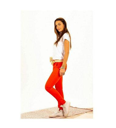 Pantalon Chino Joy Coquelicot
