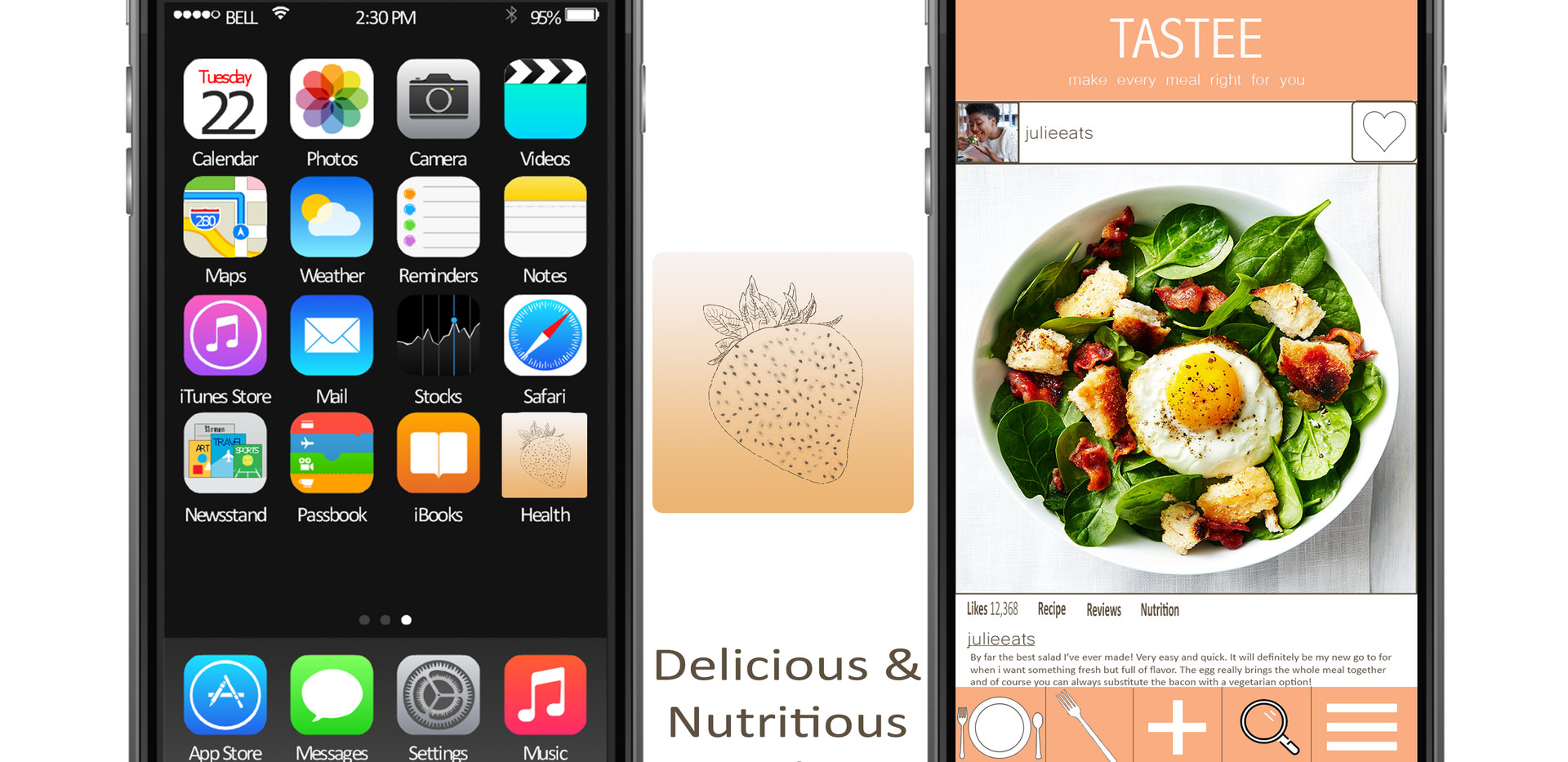 TASTEE App design