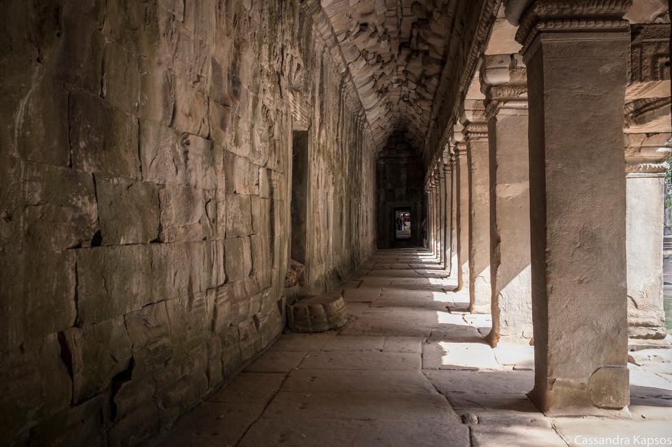 Angkor Temple Walkway