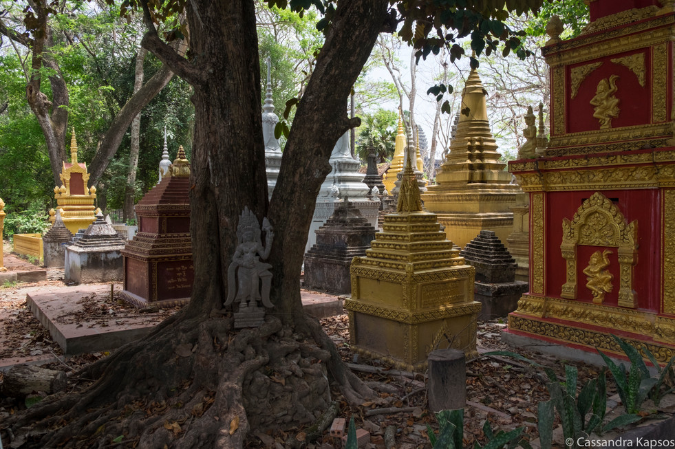 Cemtery Outside of Angkor Wat