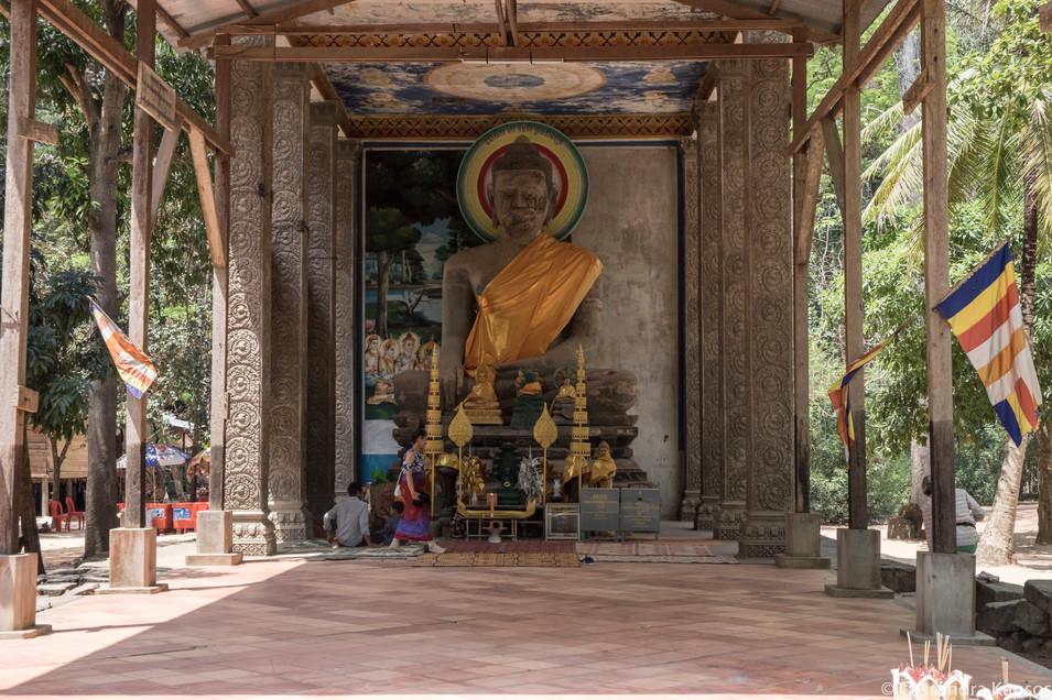Buddha Shrine at Bayon