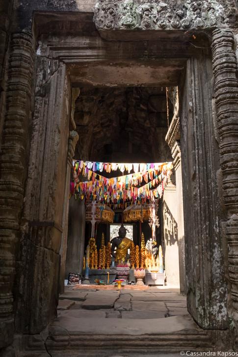 Angkor Temple Shrine