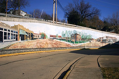 Harrison downtown mural