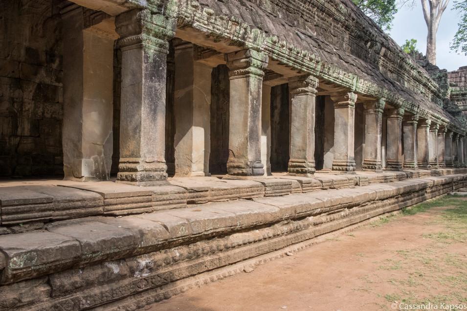 Angkor Temple Hallway